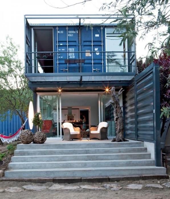 Дизайн необычного дома от James & Mau Arquitectura.