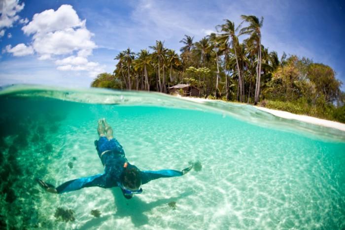 Остров Linapacan, Палаван, Филиппины.