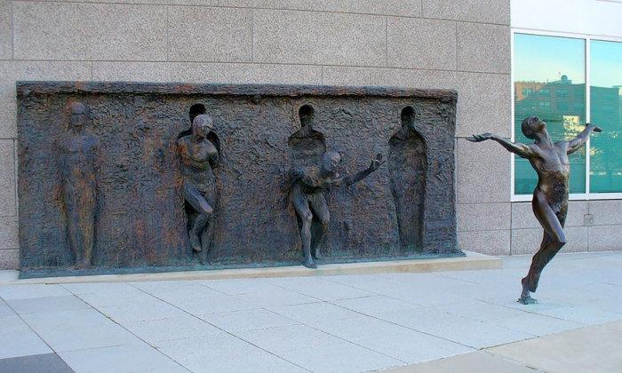 Вырваться из оков, Zenos Frudakis, Филадельфия, Пенсильвания, США.