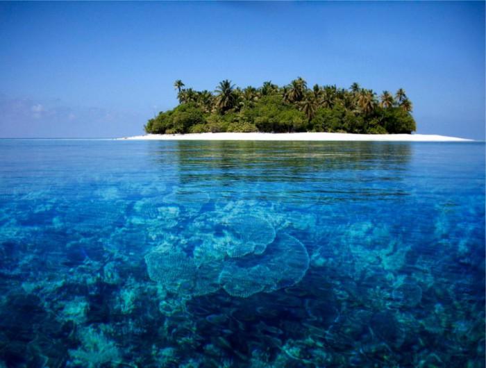 30 потрясающих пляжей с кристально
