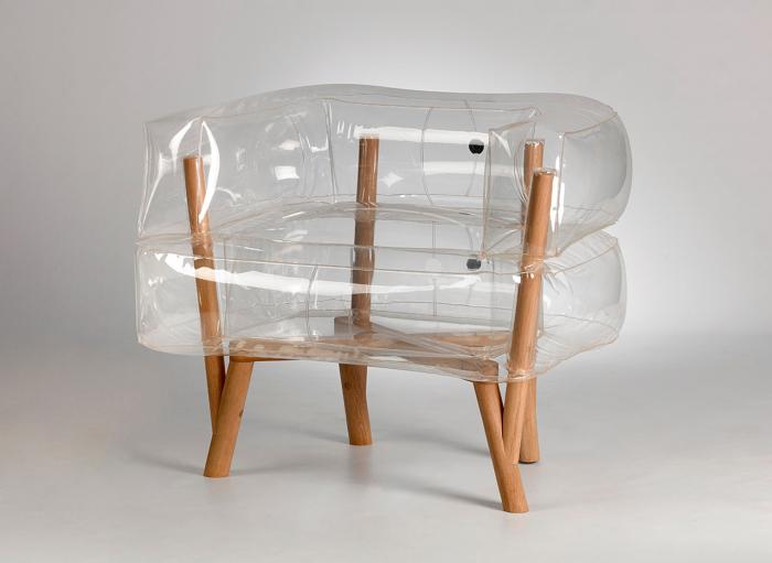 Стильное надувное кресло Anda.