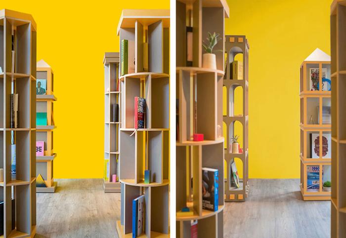 Книжный город - проект Los Contratistas.