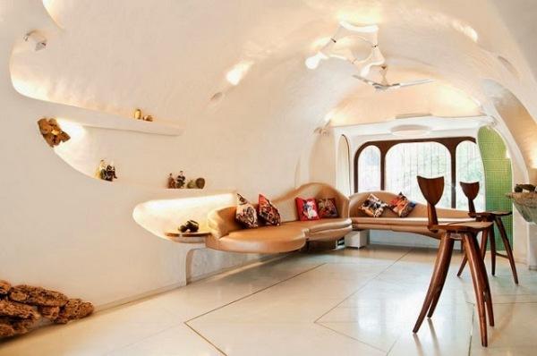 Современный дизайн интерьера гостиной от The White Room.