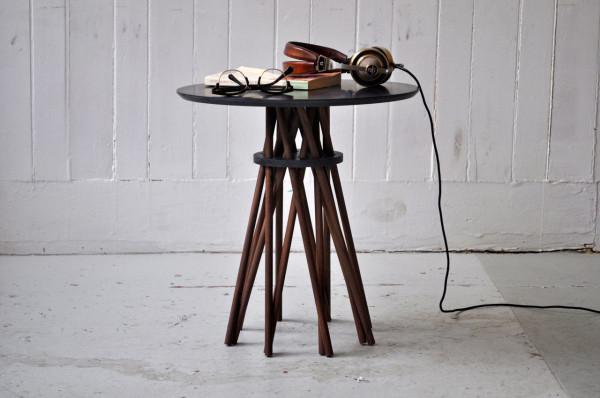 Кофейный столик ручной работы  от студии Ampersand.