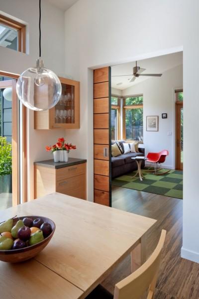 современный дизайн интерьера дома от Ana Williamson Architect.