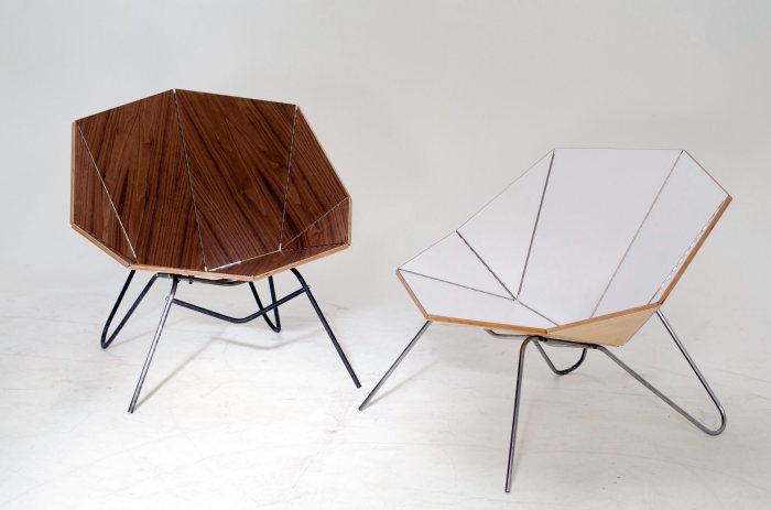Современная мебель из коллекции Cut & Fold.