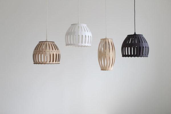 Аккуратный дизайн подвесных светильников от Максима Шняка (Maksim Shniak).