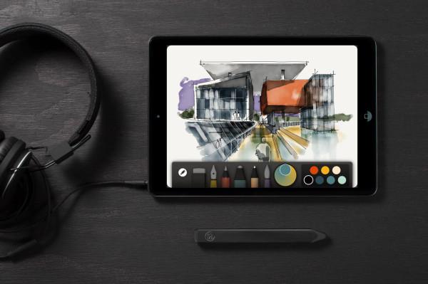 Pencil - устройство для работы на iPad.