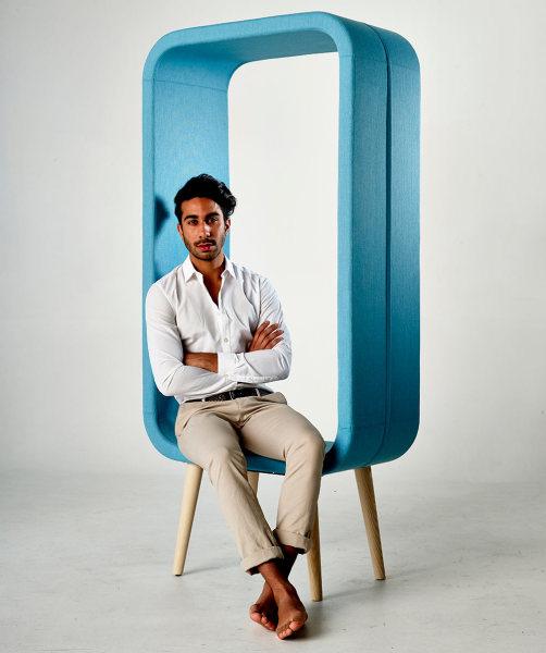Оригинальный дизайн стула от Ольги Гейтс (Ola Giertz).