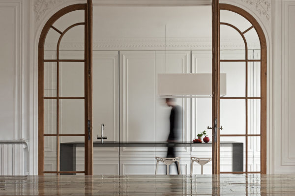 Невидимая кухня от i29 interior architects.