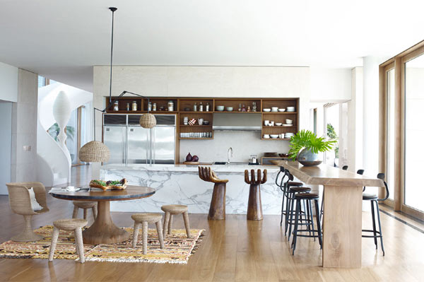 Оформление кухни от Келли Бохун (Kelly Behun).