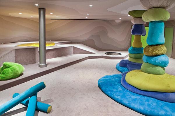 Потрясающая игровая комната - мечта любого ребенка.