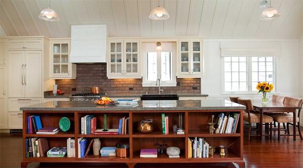 Интерьер кухни в квартире от Actual-Size Architecture.