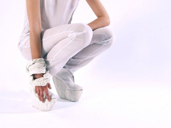 Линия женских туфель на платформе от Лоры Пэп (Laura Papp).