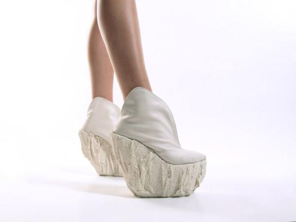 Женские туфли на массивной платформе от Лоры Пэп (Laura Papp).
