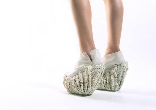 Новый взгляд на стильную дизайнерскую обувь.
