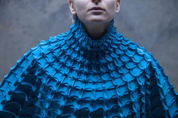 Необычные фактурные наряды от Matija Сop.