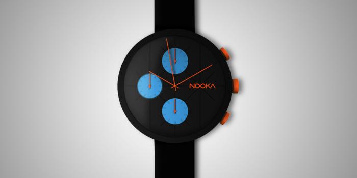 Стильный наручные часы от американского бренда Nooka.
