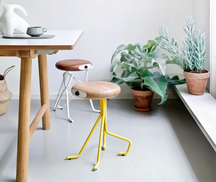 Забавные табуреты от датского дизайнера Филиппа Грасса (Phillip Grass).