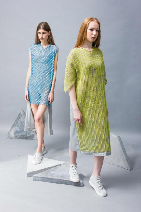 Изящные модели платьев из коллекции Provo-CUT.