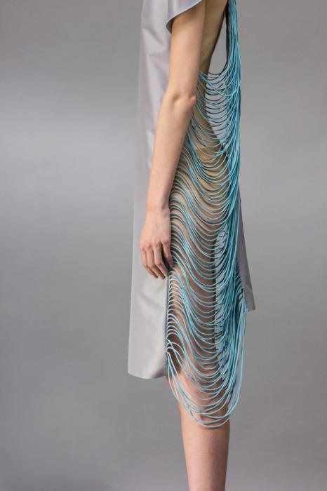 Оригинальный взгляд на обработку ткани от дизайнера Зиты Мерени (Zita Merenyi).