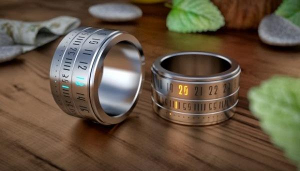 Кольцо-часы от Gusztav Szikszai.