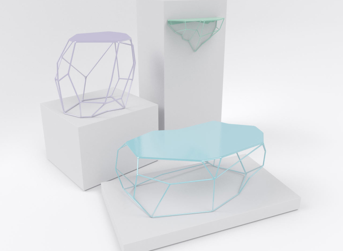Коллекция мебели от Энтони Мориса (Antoine Morris).