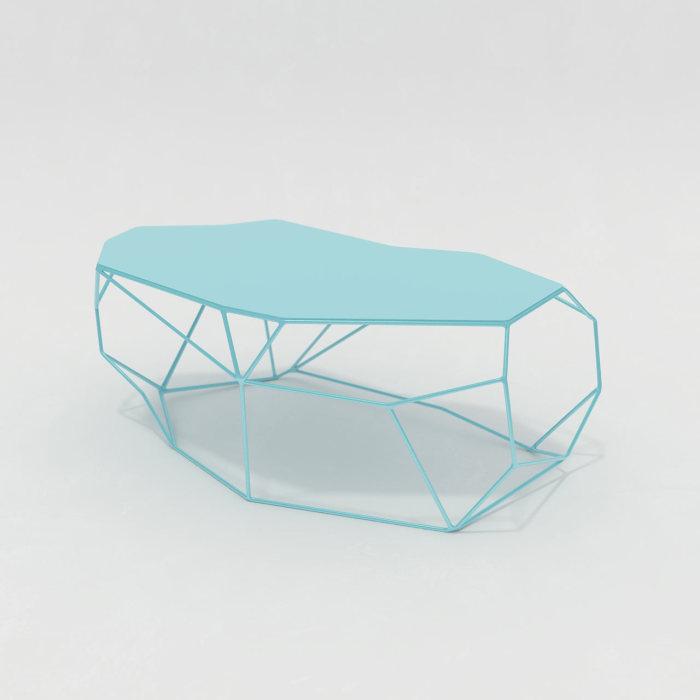 Мебель, повторяющая очертания скальных образований.