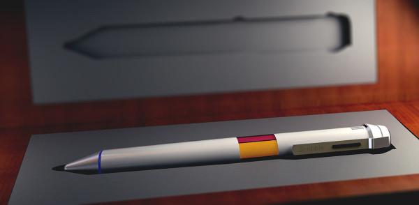 Ручка, способная копировать и воспроизводить различные цвета и оттенки.