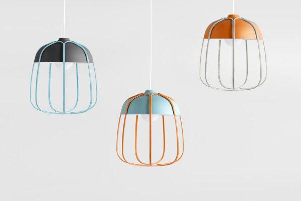 Модернизированная промышленная лампа от Томмазо  Кальдера (Tommaso Caldera).