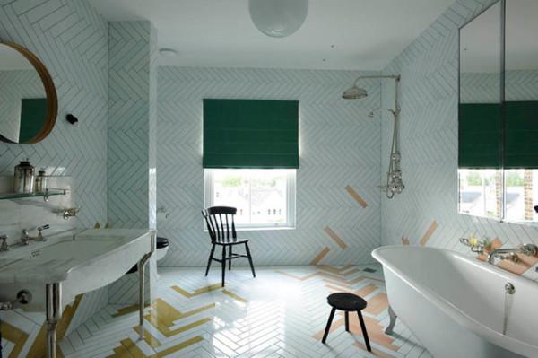 Оригинальный дизайн интерьера ванной в классическом стиле от Studio Toogood.