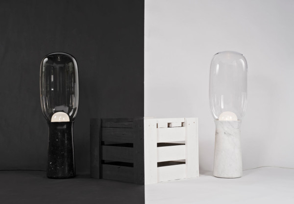 Настольная лампа-факел от дизайнера Dan Yeffet.