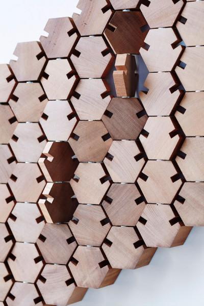 Необычная конструкция вешалки от Studio Rene Siebum.