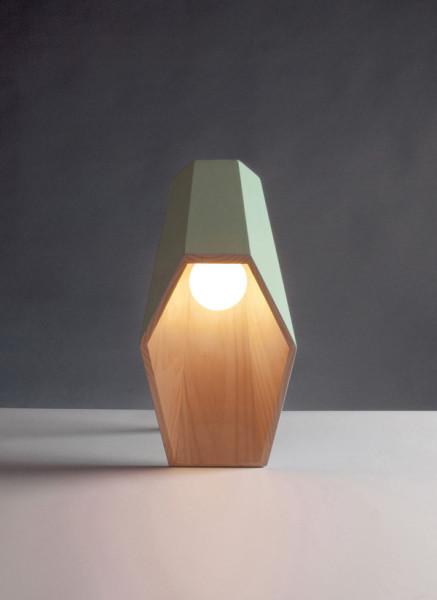 Оригинальная настольная лампа от Алессандро Замбели ( Alessandro Zambelli).