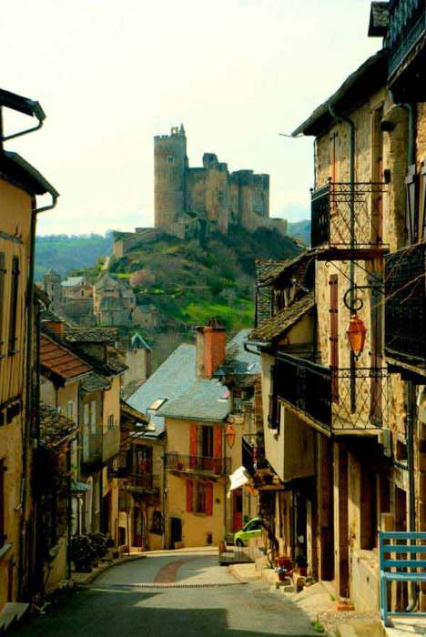 Нажак, Пиренеи, Франция.