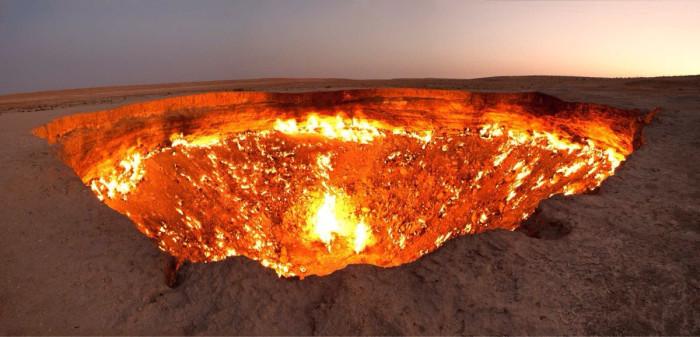Derweze, Туркменистан.