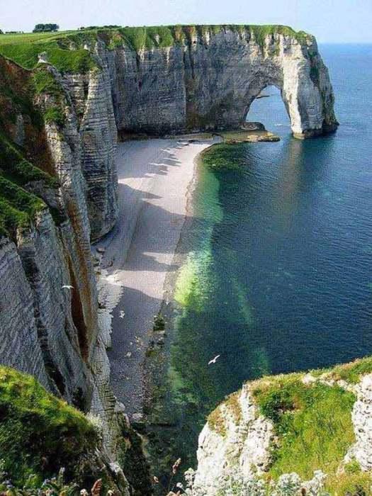 Этрета, Северная Франция.