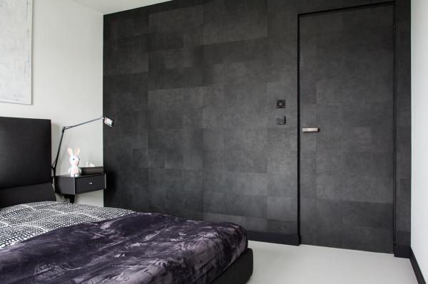 Two color walls bedroom