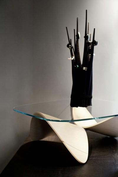 Кофейный столик от Sandro Lopez в стиле минимализм.