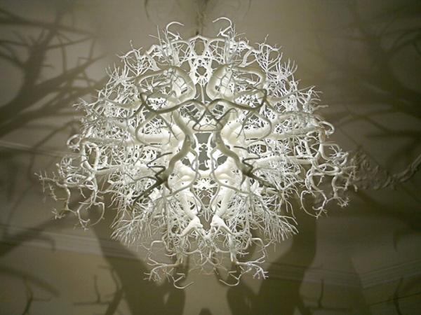 Необычная люстра от Darwinist Ernst Haeckel.