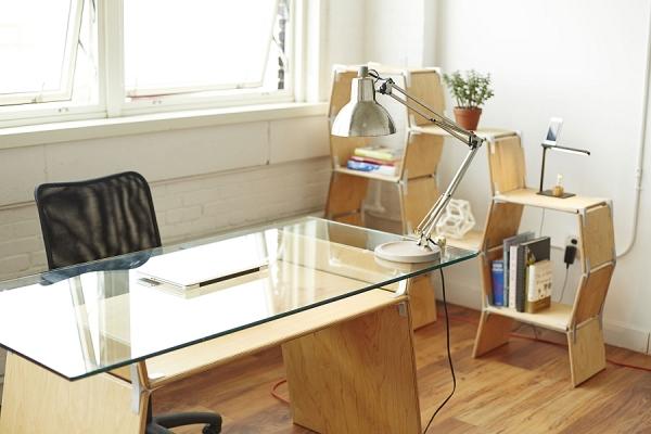 Modos: мебель-трансформер от Andrew Personette и Matt Tyson.