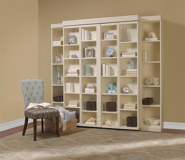 Книжный шкаф-кровать от Madison Bifold