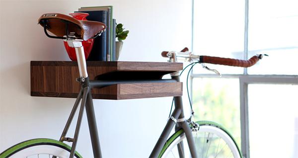 Полка-держатель для велосипеда от Knife & Saw