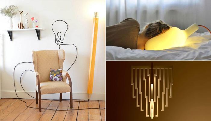 Оригинальные светильники для дома.