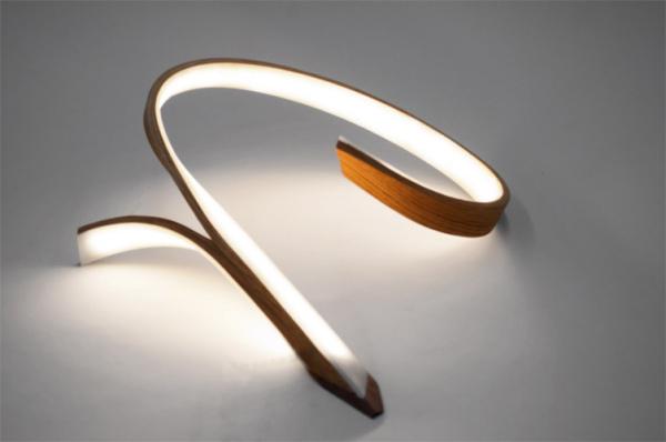 Интересный элемент декора в виде светильника от John Procario.