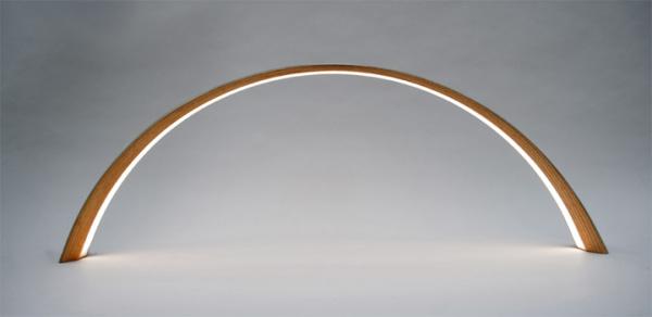 Необычная форма светильника от John Procario.