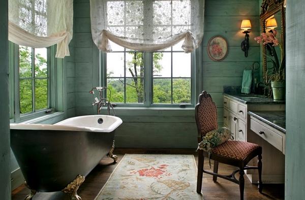 Стильный дизайн ванны.
