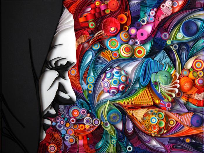 Красочные объемные аппликации от Юлии Бродской (Yulia Brodskaya).