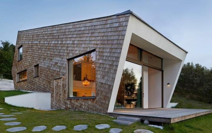 Cone House - особняк, расположенный в Стокгольмском архипелаге.