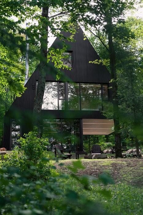Дом, построенный о проекту архитектора Jean Verville.